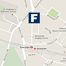 Amersham Office Map