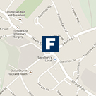 Flackwell Heath Office Map