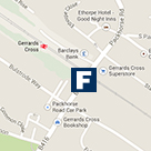 Gerrards Cross Office Map