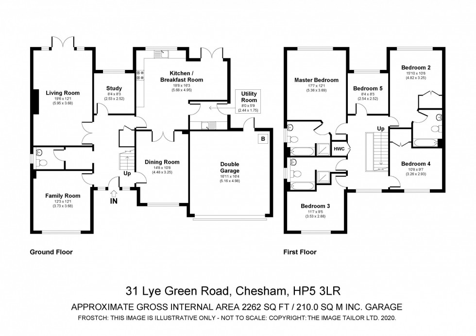 Floorplan for Lye Green Road, Chesham, HP5