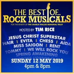 The Best of Rock Musicals - Sunday May 12th